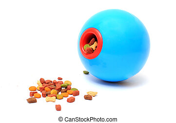 Pet food - Ball toy for feeding pet