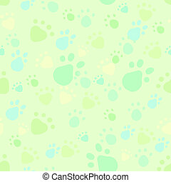 Pet legs imprint seamless