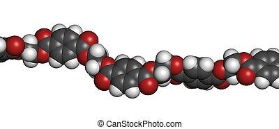 (pet, pete), polietilén, poliészter, chemic, műanyag, ...
