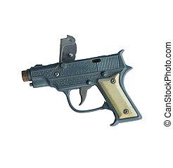 pet, pistool