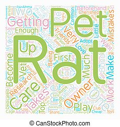 Pet Rat Care The Top Mistakes Of New Rat Owners text ...