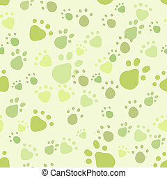 Pet seamless - Eps 10 vector seamless pattern with pet legs...