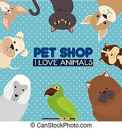 pet shop logo