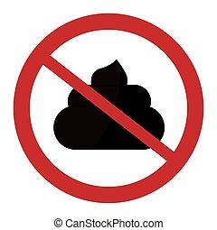 Pet shop sign design, Vector illustration