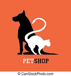 Pet shop. Veterinary