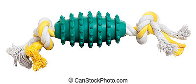 Pet Toy on White Background - Pet Toy isolated on white...