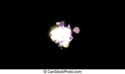 petals, цветок, канал, альфа