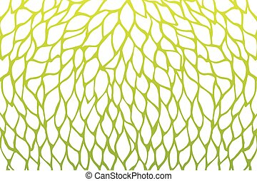 Petals flower pattern design green yellow gradients color illustration isolated on white background with copy space, vector eps10