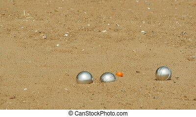 petanque french leisure game - petanque french leisure, slow...
