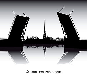 Peter and Paul Cathedral - Illustration with Peter and Paul...