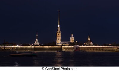 Peter and Paul Fortress night timelapse is the original...