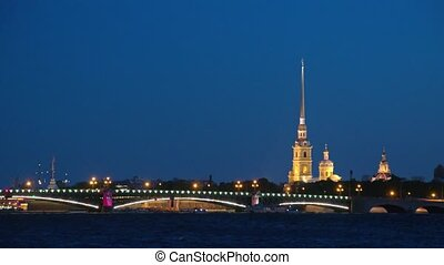Peter and Paul Fortress, Saint Petersburg. Russia.