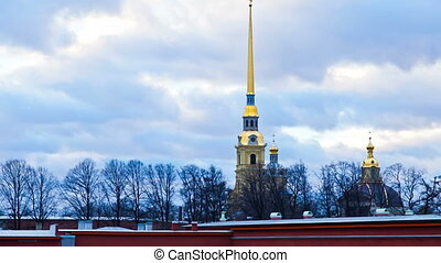 Peter and Paul Fortress. St. Peters