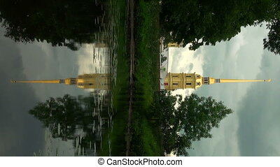 Peter and Paul fortress. The reflection in the water. - The...