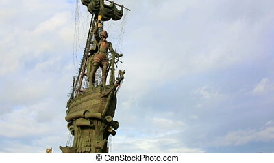 The Peter the Great Statue, 98-metre-high monument in Moscow