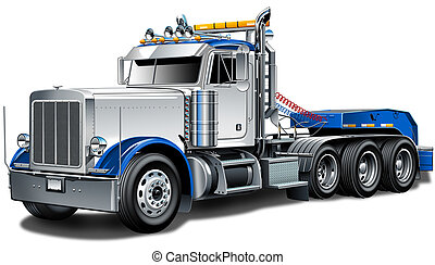 peterbilt, lastwagen