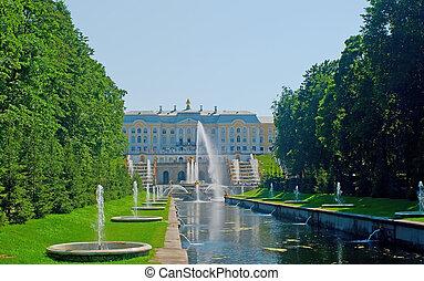 peterhof, palacio