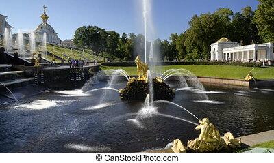 Peterhof - Sampson - St. Petersburg, Russia