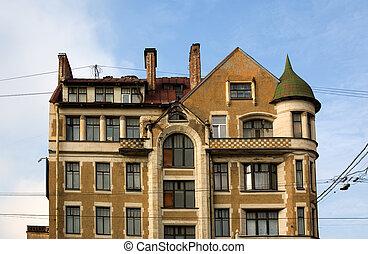 Petersburg's facade
