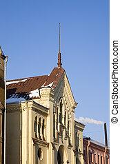 Petersburg's facades