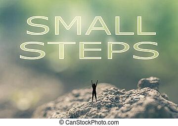 petit, étapes