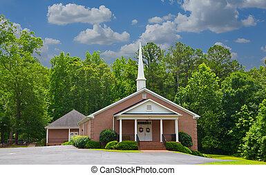 petit, baptiste, église