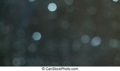 petit, bokeh, fond, pluie