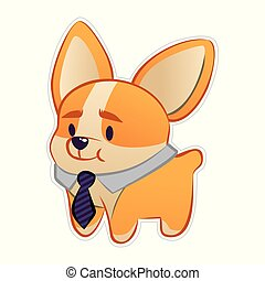 petit, business-dog
