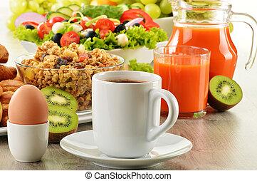 salade croissant caf jus muesli petit d jeuner oeuf su dois salade croissant caf. Black Bedroom Furniture Sets. Home Design Ideas