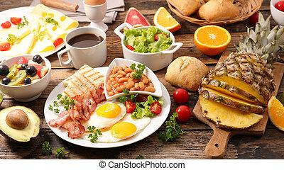 petit déjeuner, anglaise