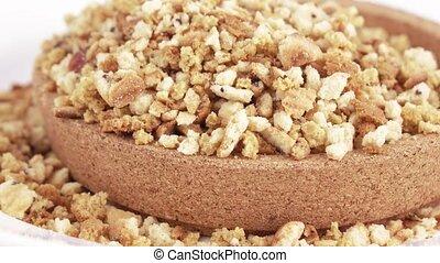 petit gâteau, miettes, pain