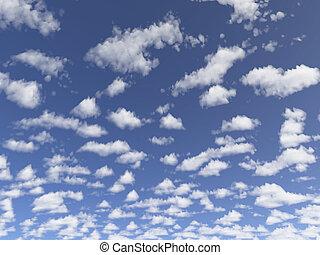 petit, nuages