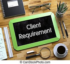 petit, requirement., 3d., client, tableau