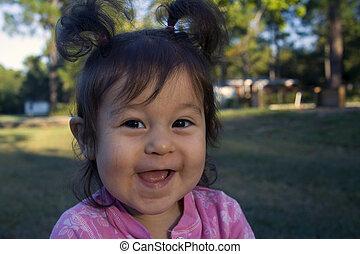 petit rire fille