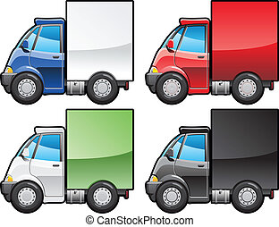 petit, truck.