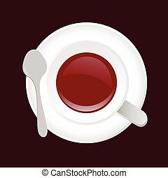 Petite Cuill Ef Bf Bdre Tasse A Cafe