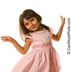 petite fille, danse