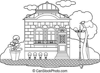 petite maison, dessin