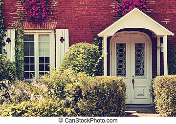 petite maison, rural, vieux, québec, canada