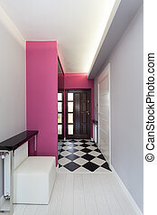 petite maison, vibrant, -, porte