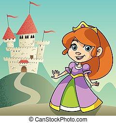 petite princesse, paysage