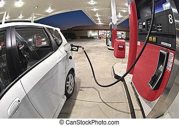 petite voiture, refueling, économie