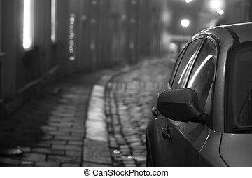 petite voiture, rue