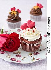petits gâteaux, valentin