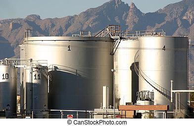 petróleo, depósito