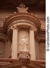 Petra Treasury Detail