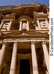 Petra Treasury front view