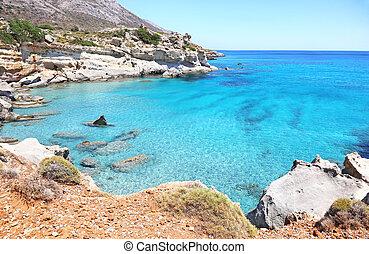 Petrified forest Laconia Peloponnese Greece - landscape of ...