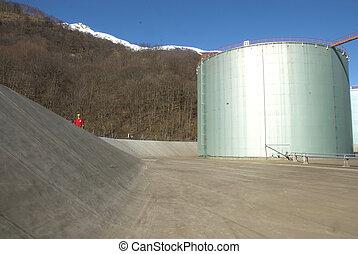 petro-chemica, réservoir