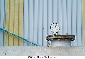 Petro chemical or industry industrial pressure gauge